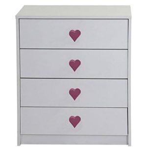 armário corações