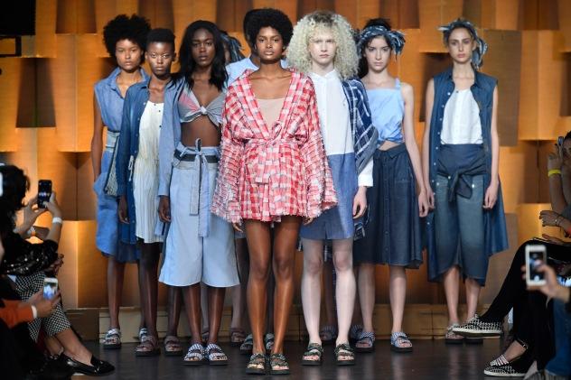 Comas-Brasil Eco Fashion Week- . Foto:Marcelo Soubhia/ Agencia Fotosite